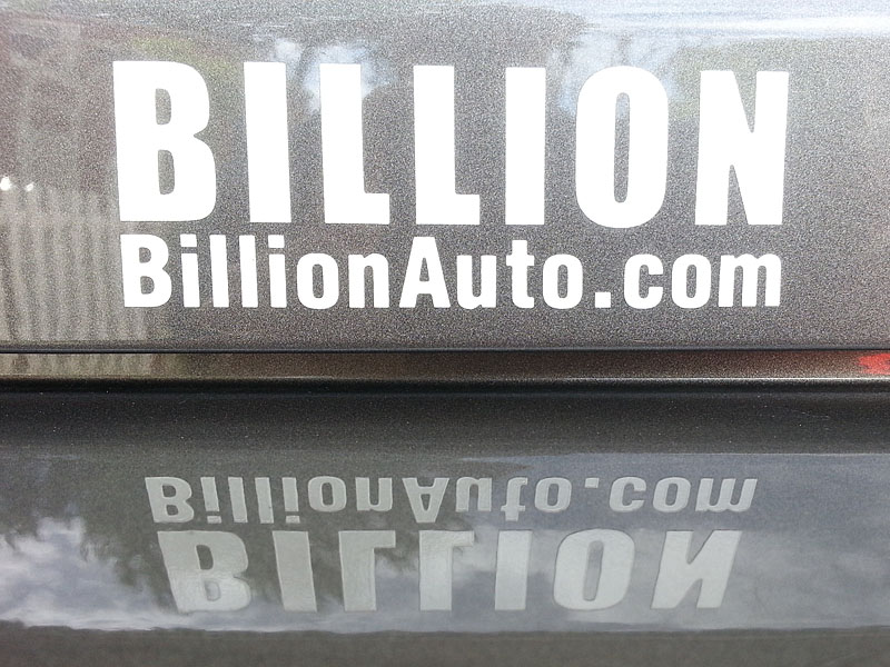 Billion Auto Logo