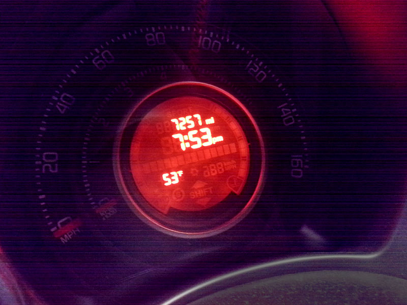Mileage at the time of her first change