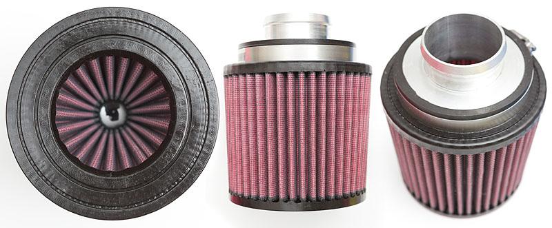 K&N Filter with venturi