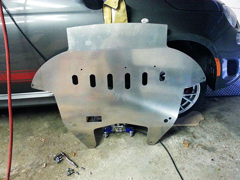 R3T Skid Plate Underside